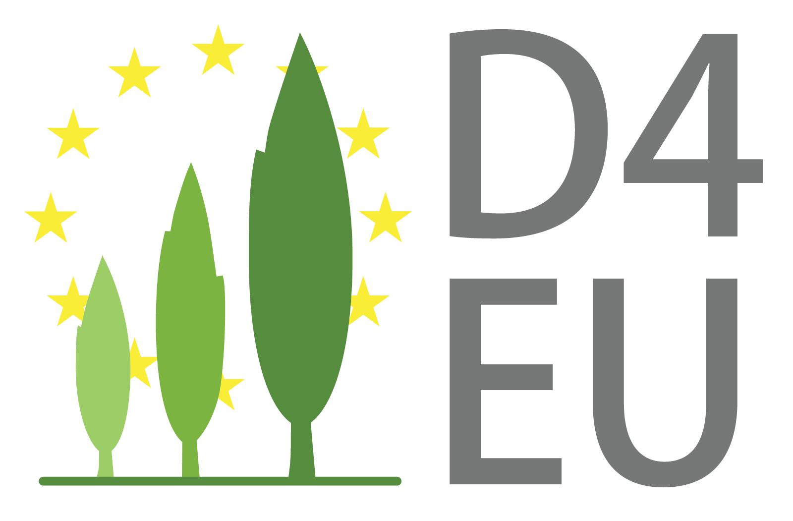 Logo des D4EU Projektes